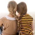 Две девушки на вершине