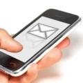 СМС на телефоне